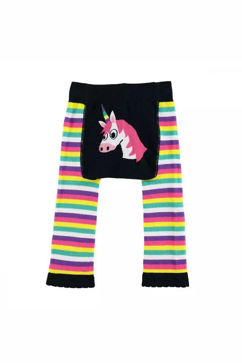 LazyOne Girls Unicorn Infant Leggings