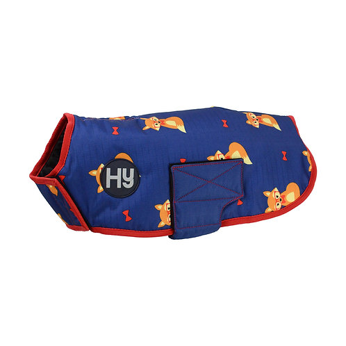 Fraser the Fox Waterproof Dog Coat
