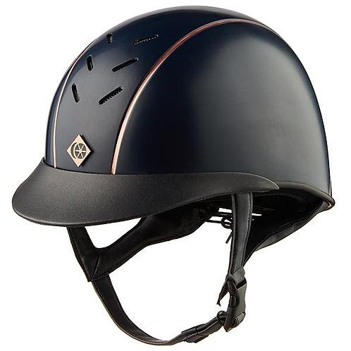 Charles Owen Ayrbrush Helmet with Pinstripe