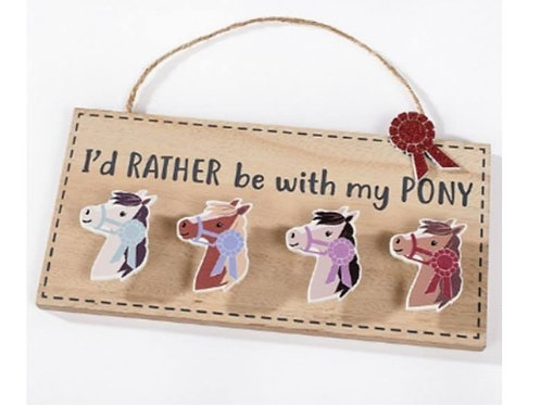 I'd Rather Be With My Pony