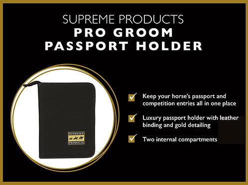 Supreme Products Pro Groom Passport Holder