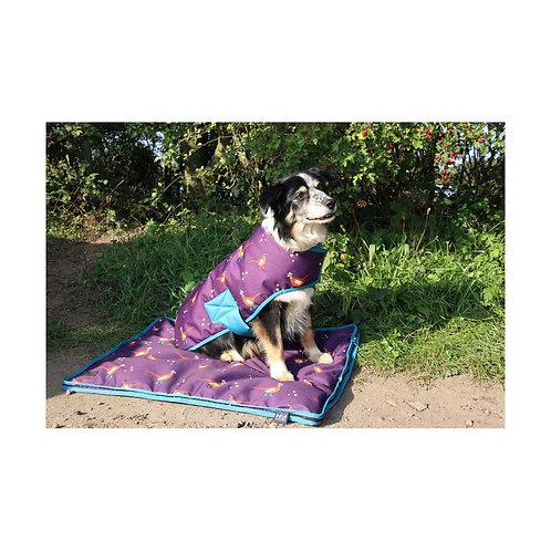 Patrick The Pheasant Waterproof Dog Coat