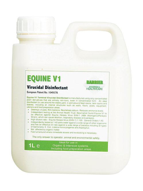 Barrier Equine V1 Virucidal Disinfectant
