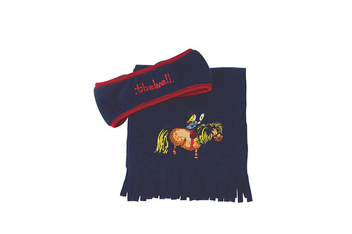Thelwell Collection Head Band and Scarf Set