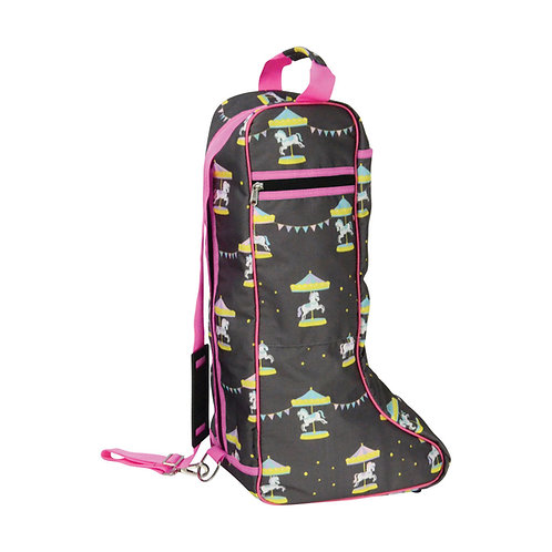 Merry Go Round Boot Bag