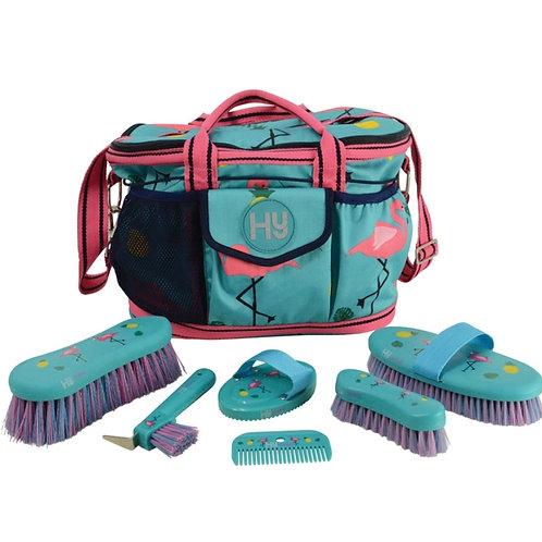 Hy Flamingo Complete Grooming Bag