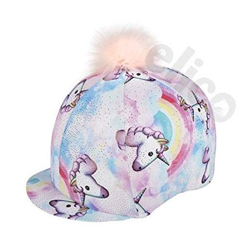 Elico Unicorn Lycra Hat Cover With Pom Pom