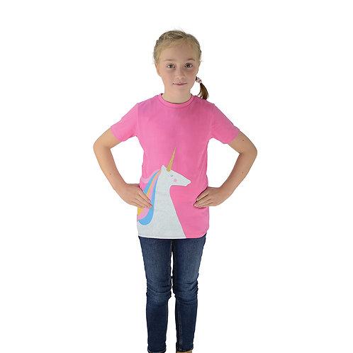 HyFASHION Magical Glitter Unicorn T-Shirt