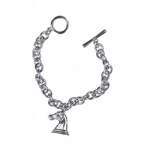 Horse Head Charm Bracelet