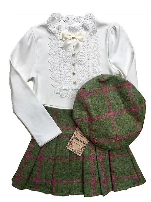 The Sandringham Skirt - Mulberry