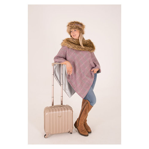 George & Dotty Serina Tweed Cape