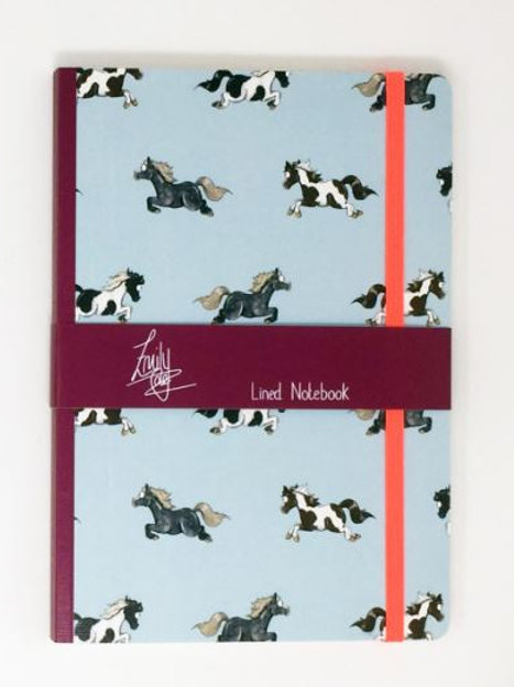 """""""Pony"""" Lined Notebook"""