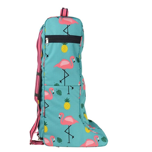 Hy Flamingo Boot Bag