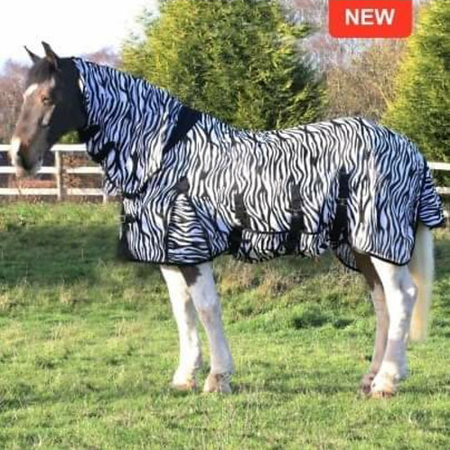 Gallop Zebra Combo Fly Rug