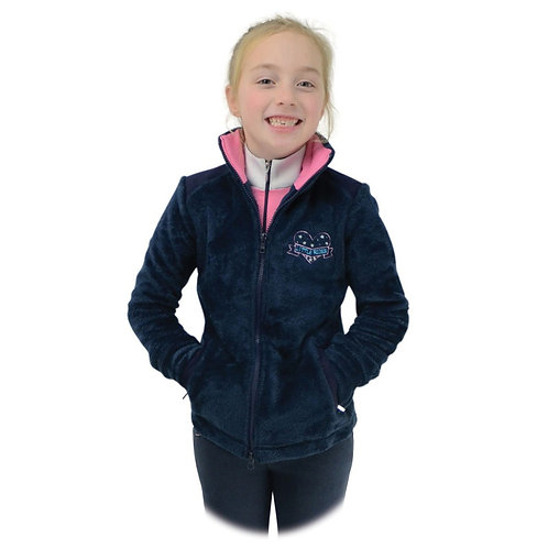 Lola Love Heart Children's Fleece by Little Rider