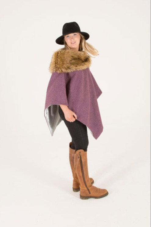George & Dotty Alice Tweed Cape