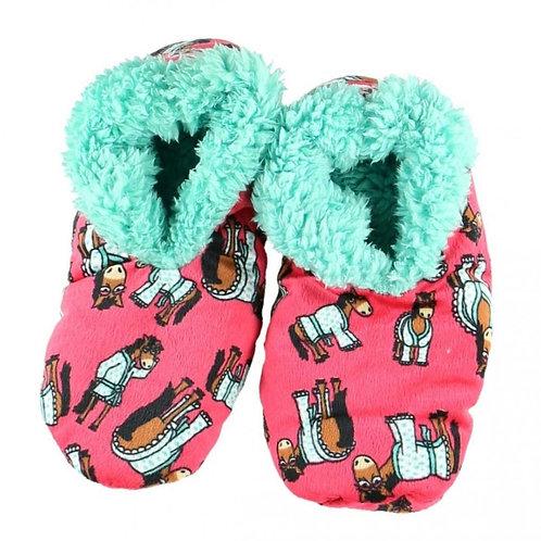 LazyOne Women Don't Do Morning Fuzzy Slippers