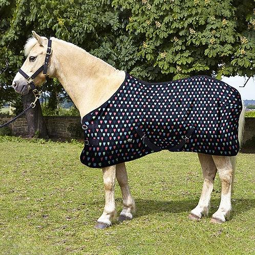 Elico Hearts Fleece Rug