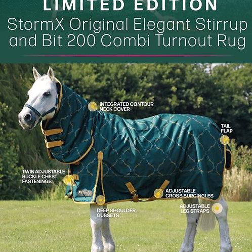 StormX Original Elegant Stirrup & Bit 200 Combo Turnout