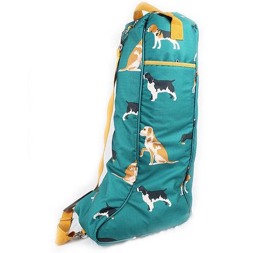 Dogs Print Boot Bag