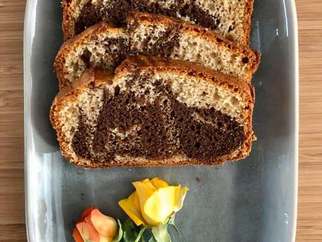 Gâteau marbré sans gluten ni lactose