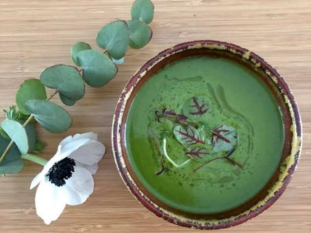 Velouté vert alcalinisant