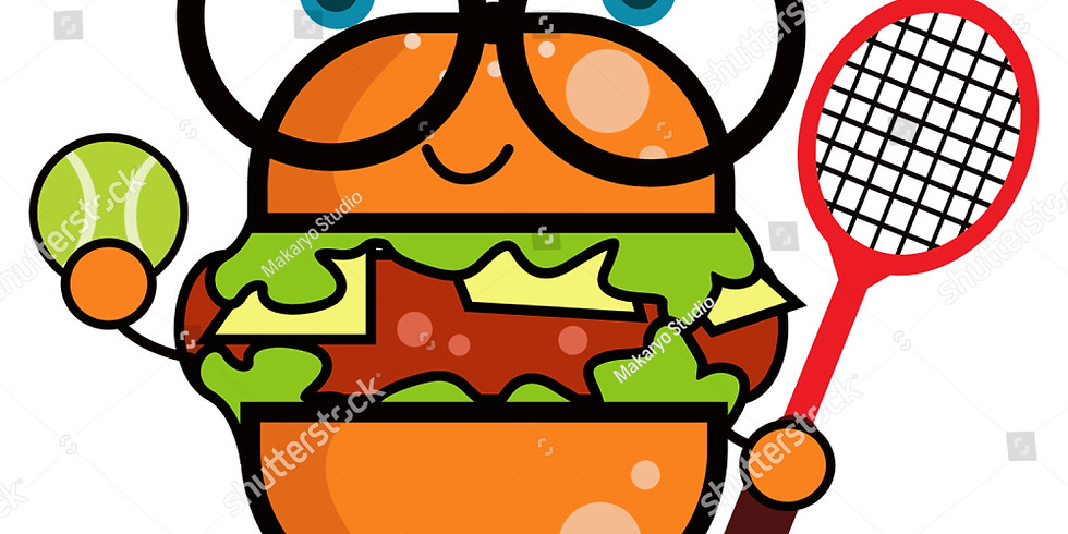 Burgers and Sausage Tennis Gathering