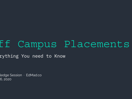Off Campus Placements - 101