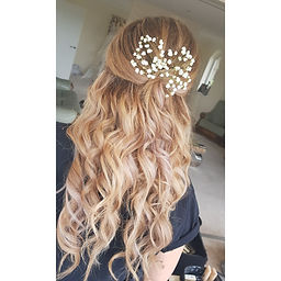Occasion prom hair