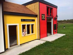 Play Village Shop & Fire Station