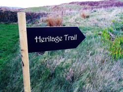 Heritage Trail signs