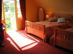 Bright spacious room