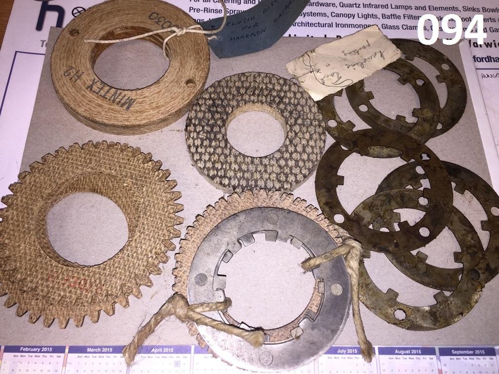 094 Harrison lathe clutch plate part