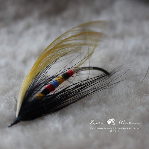 Variegated Sun Fly (variant) Classic Salmon Fly