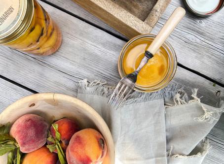 Canning Peaches & Spiced Peaches