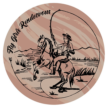 Fly Girl's Rendezvous Stickers