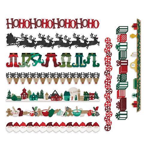 Christmas Spirit Laser Cut Borders