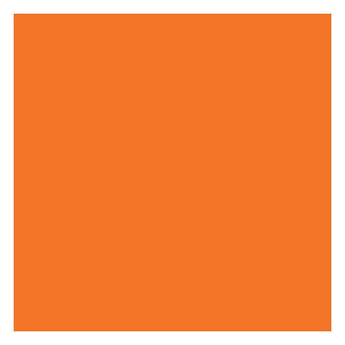 Orange Solid 12x12 Cardstock (10/pk)