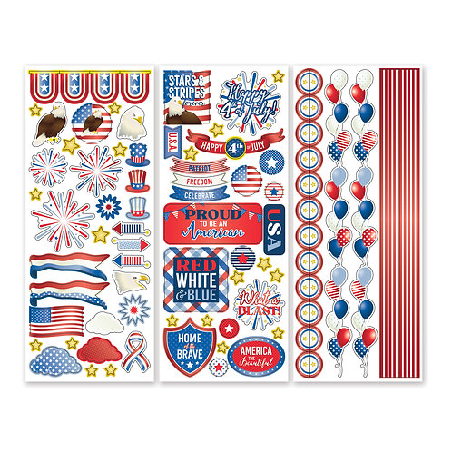 United We Stand Stickers  (3/pk)