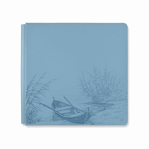 12X12  Cashmere Blue Spring Cottage Album Cover