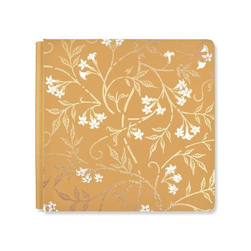 12X12 Mustard Art Nouveau Album Cover