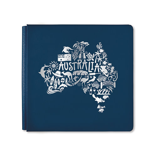 12X12 Navy G'day Album Cover