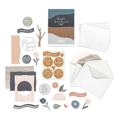 Simple Sentiments Card Kit (12pk)