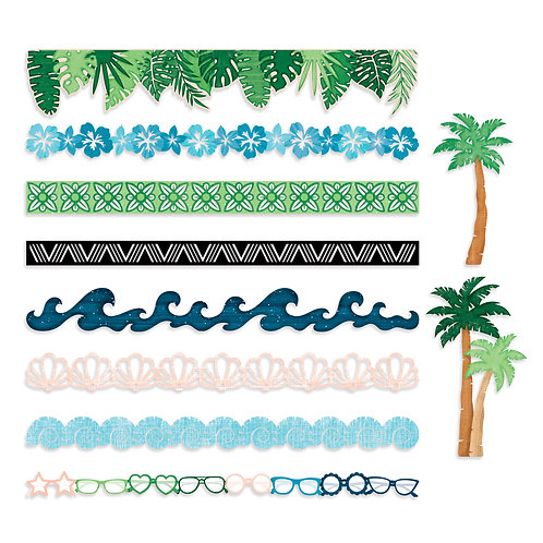 Vitamin Sea  Laser Cut Border Embellishments (10/pk)