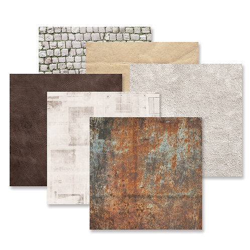 Timeworn Texture  Paper Pack (12/pk)