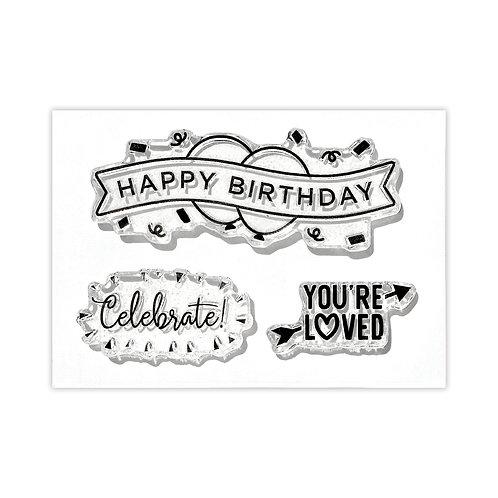Celebration Title Stamp