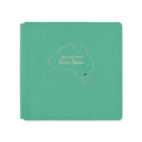 12x12 Jade Aussie Adventure Album Cover