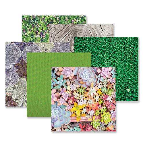 Glowing Gardens Paper Pack (12/pk)