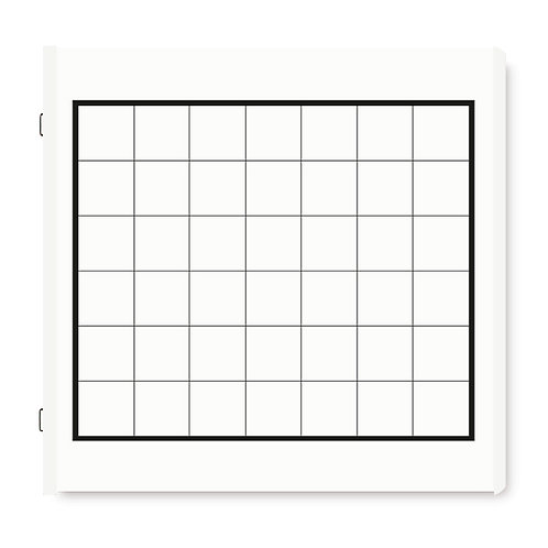 Calendar Refill Pages, White Refill Pages and Page Protectors (16/pk)