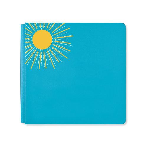 12X12 Poppy Blue Summertime Album Cover
